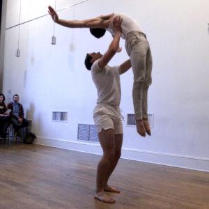 Joe Barros at the Choreolab